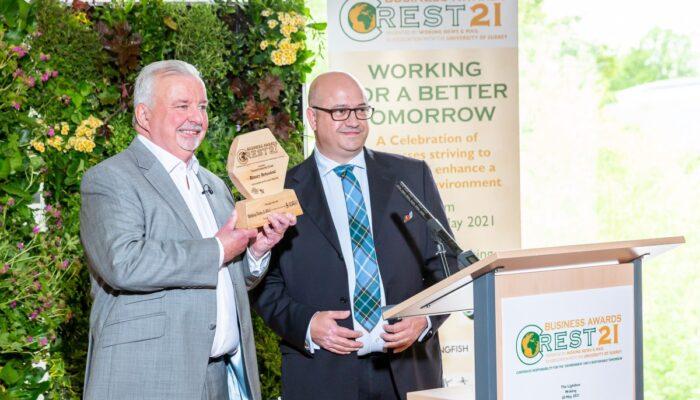Terry with Binary Botanical winner of Transforming Food Award